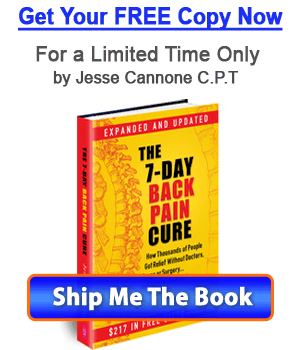 Free Book - 7 Day Back Pain Cure